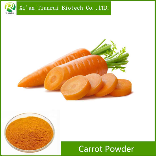 High Quality Organic Carrot Powder Beta Carotene 10% 30% 50% pictures & photos
