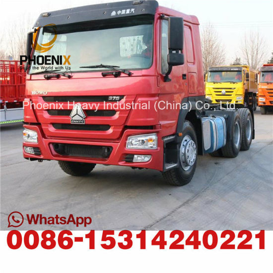 Good Condition Used Sinotruck HOWO10 Tires Tractor Head Truck with Good Condition on Hot Sale
