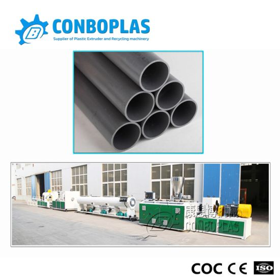 Plastic Extruder UPVC PVC Drainage Sewer Pipe Production Extrusion Line