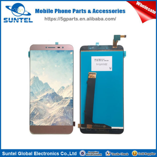 Mobile Phone Gold Full Complete LCD for Hisense F23 LCD Display Replacement