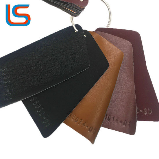 Microfiber Backing TPU Synthetic Leather for Garment Leather-Looking for Agents pictures & photos