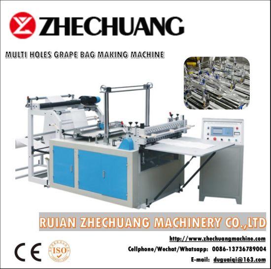Fully Automatic Multi Hole Punching Grape Bag Making Machine