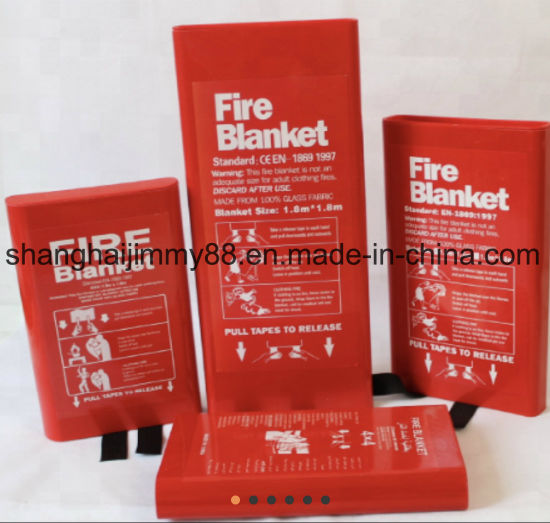 En 1896 Fiberglass Fire Blanket pictures & photos