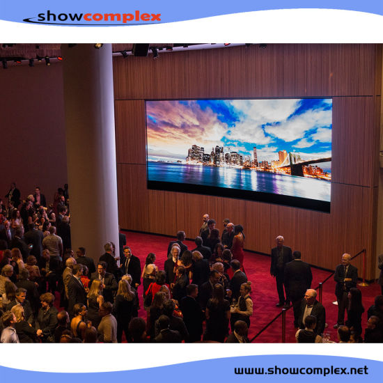 P2.97 P3.91 Indoor Full Color Large Video LED Display Screen with High Refresh Rate for Events Advertisement Video Wall