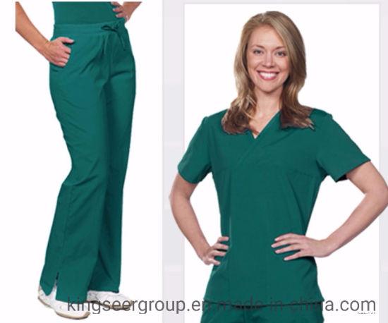 Customized Fashion Hospital Medical Healthcare Unisex Scrubs in Set Uniforms