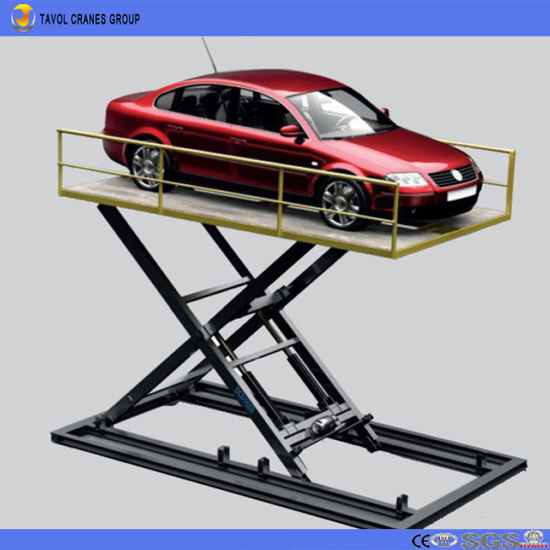 China Hydraulic Car Lift Price Car Scissor Lift for Home Use