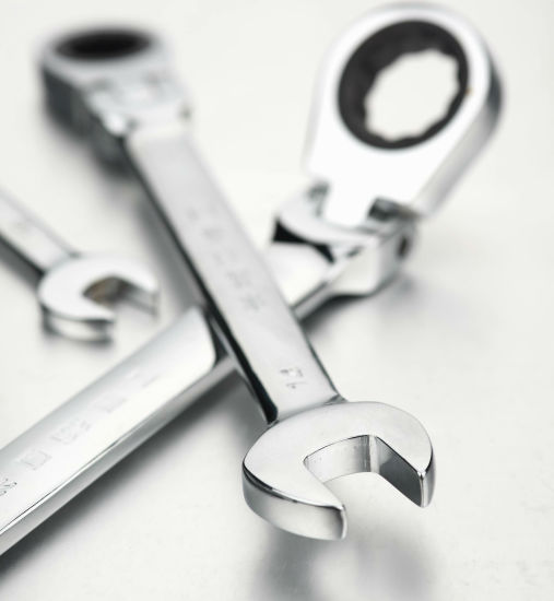 OEM Acceptable Carbon Steel Ratchet Combination Wrench