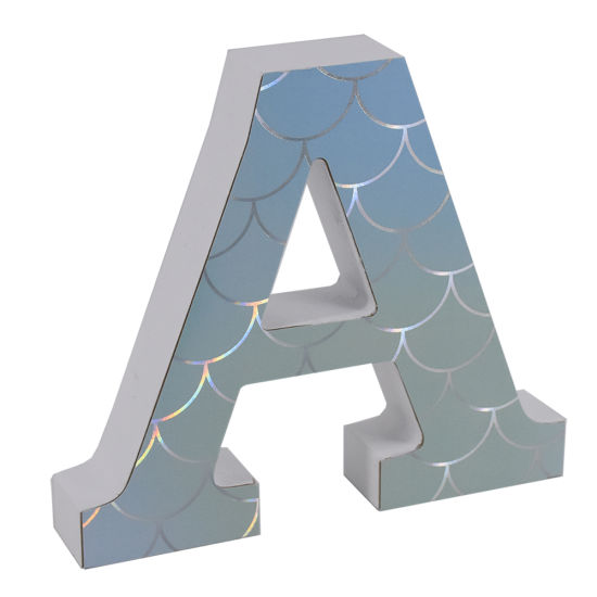 MDF Alphabet Letters Customized Printing Home Decoration Alphabet Letters pictures & photos