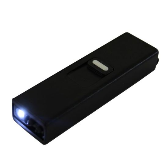 Colorful Ultra Small Windproof Electric Cigarette Arc Lighter with Flashlight U Disk Design