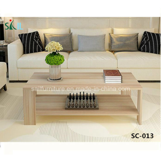 Simple Design Wooden Coffee Table