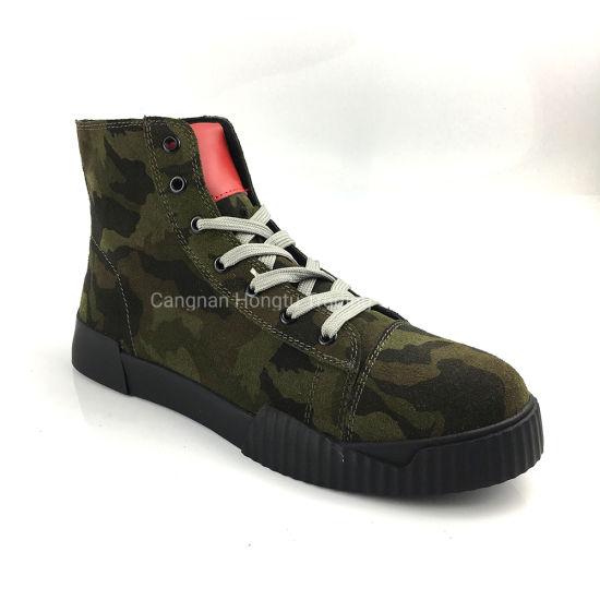Comfortable Classic Casual Sneakers Boots Men Shoes