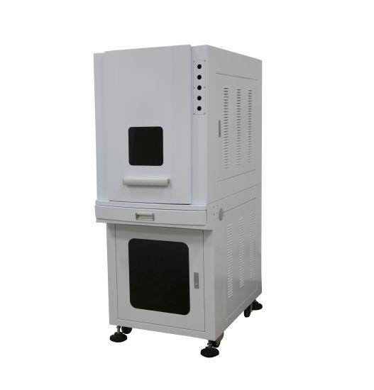 Enclosed Type Fiber Laser Marking Cabinet for 100W Laser Source