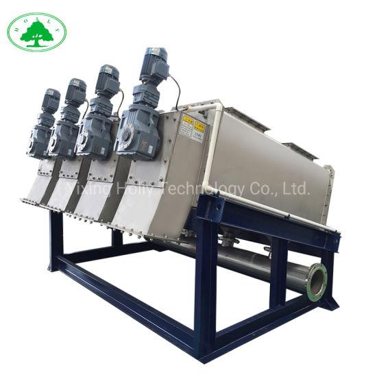 Multi-Disc Screw Sludge Dewatering Machine for Waste Water