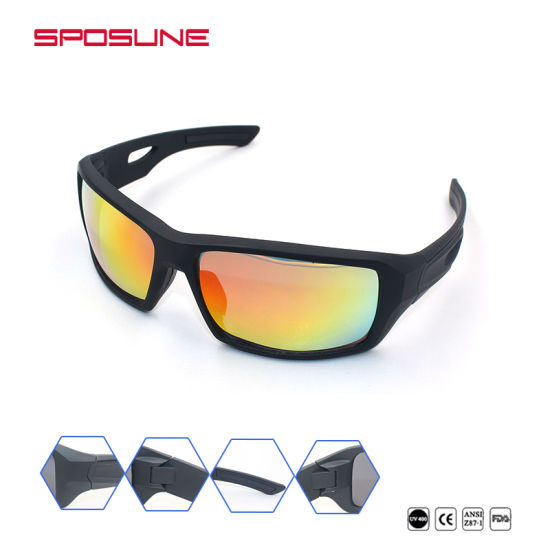 db9c9ce632ab High Impact UV400 Polarized Sport Sunglasses for Cycling Running pictures &  photos