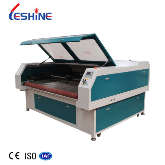Automatic Feeding Sofa Fabric Leather Laser Cutting Machine for Car Seat Cover 1610 1325