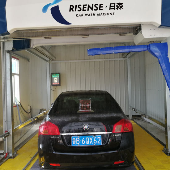 Full Automatic 360 Sinlge Arm Touchless Car Wash Machine