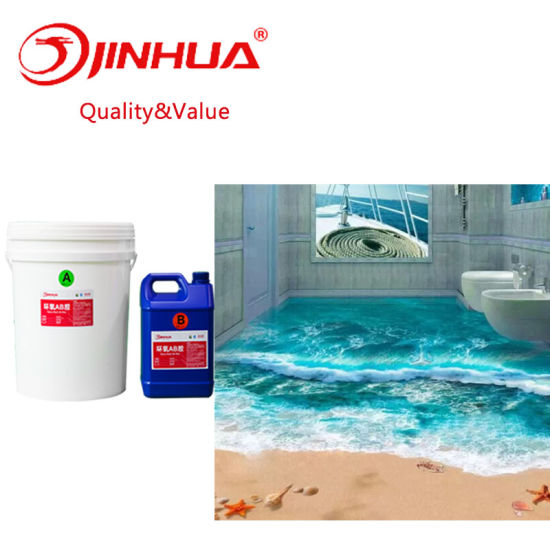 China 3d Floor Crystal Clear Epoxy Floor Coating China