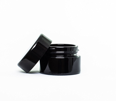 5ml Black UV Glass Child Resistant Concentrate Container