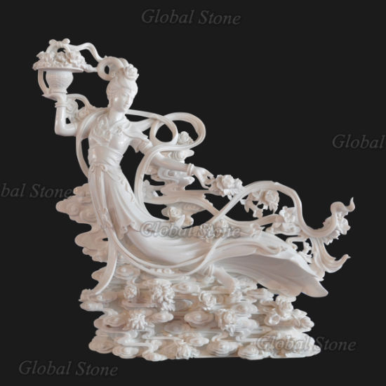 Hand Carved Marble Buddha Statue (GSS-246) pictures & photos