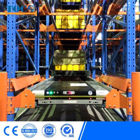 Top China Supplier Freezer Pallet Shuttle Shelving System for Electronics
