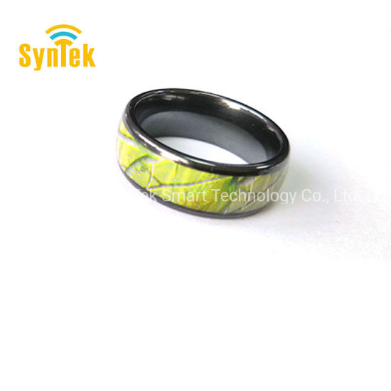 NFC Smart Ring, 2019 New Waterproof Intelligent Magic Smart Ring Universal  Wear Finger Digital Ring for Samsung, Huawei, Android and NFC Phone