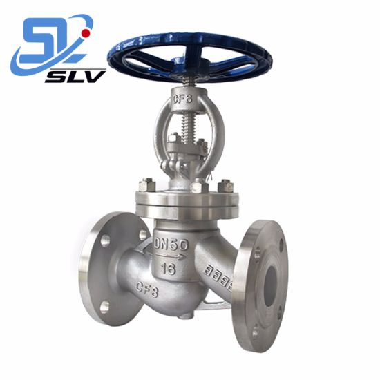 Cast Steel SUS304 Stainless Steel Flanged Globe Valve pictures & photos