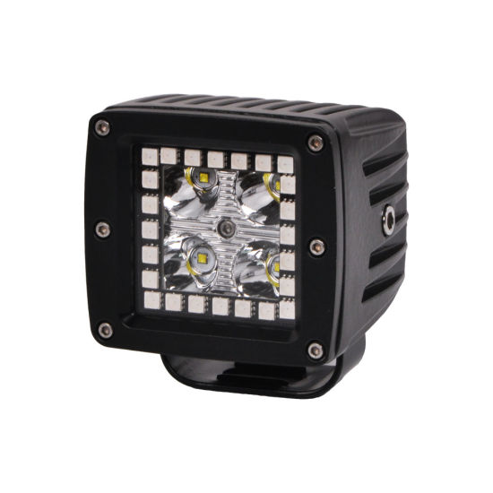 Wholesale Factory Price 24V Music Bluetooth Control Nissan Patrol Y61 3inch 12W RGB LED Work Light