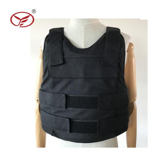 Waterproof Nylon Black Soft Conceal Bullet Proof Vest
