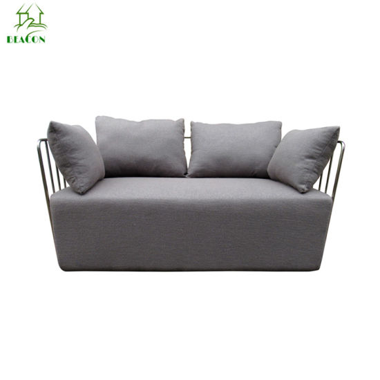 China Modern 2-Seater Fabric Setional Sofa for Living Room - China ...