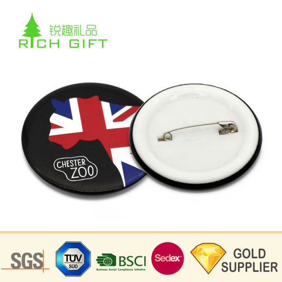 Wholesale Maker Cheap Promotional Blank Metal Reflective 37mm 44mm 58mm Tin  Bottle Opener Star Cat Heart Glitter Magnetic Custom Logo Pin Button Badge