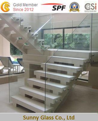 Hot Sale Clear/ Tinted Laminated Tempered Glass for Interior Decoration pictures & photos