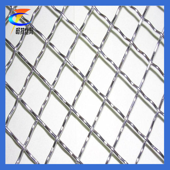 SS304 Stainless Steel Crimped Wire Mesh