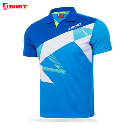 Aibort New Design Sublimation Polo Shirts with Custom Logo (Polo-56)