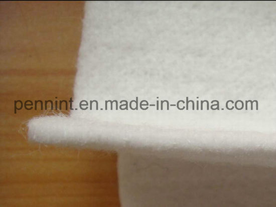 Geosynthetic Needle Punched Short/Long Fiber White/Black Non Woven Geotextile pictures & photos