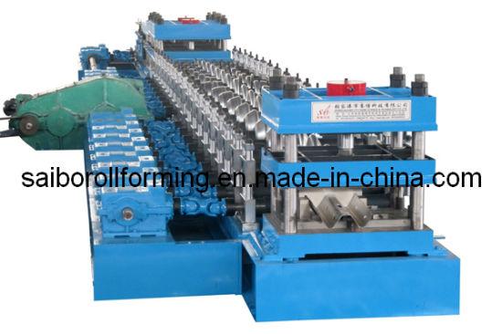 Guard Rail Roll Forming Machine 2.0-4.0mm Thickness