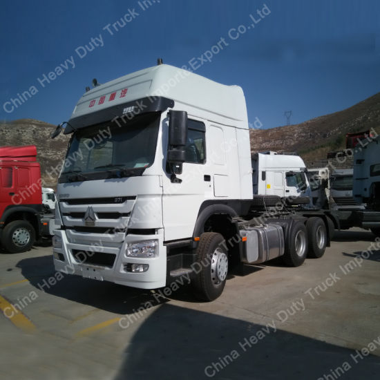 Hot Sale Container Transportation HOWO 6X4 Tractor Truck