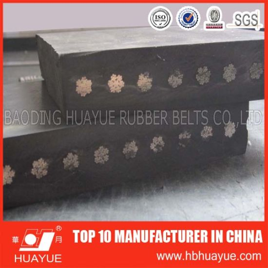 Abrasion Resistant St2500 Steel Cord Rubber Conveyor Belt pictures & photos