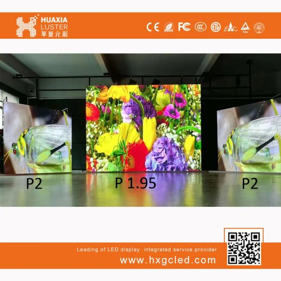 P1.95 Indoor Full Color SMD HD Rental LED Video Wall