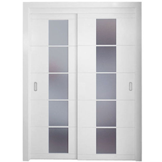 Merveilleux Oppein Modern White Interior Sliding Doors With Glass (MSPY02)