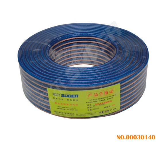 Types Of Speaker Wire | China Suoer Blue And White 400 Yard Speaker Wire Speaker Cable