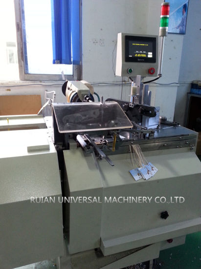 Hangtag Threading Machine with Cold Cut (LM-LY3) pictures & photos