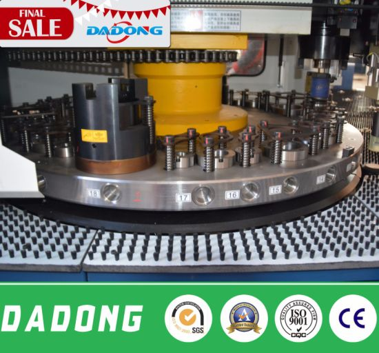 Dadong CNC Turret Punching Machine for Solar Water Heater Processing pictures & photos