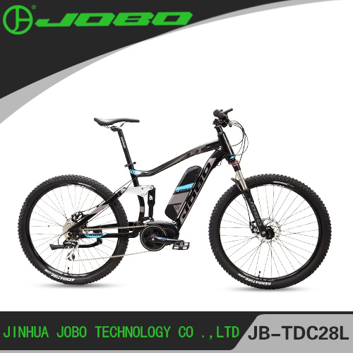 Aluminum Alloy 27.5 Inch Middle Motor Electric Mountain Bike / Full Suspension Mountain Bike pictures & photos
