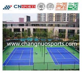 High Quality Buffer Polyurethane Coating for Tennis Court