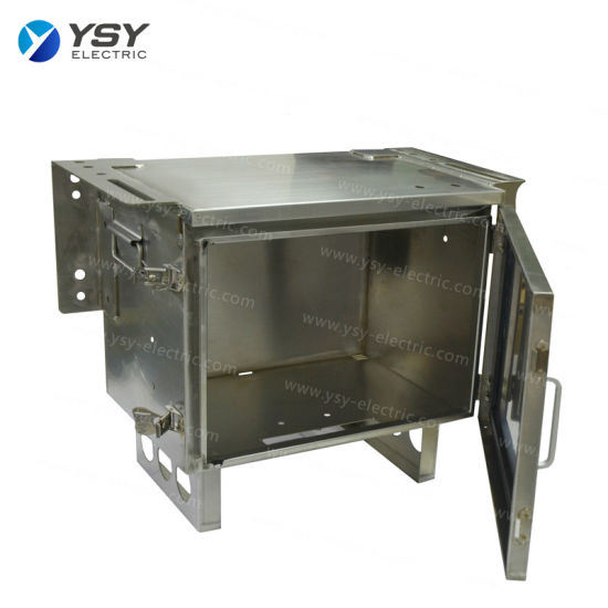 Customized Stainless Steel Fabrication Box Precision Sheet Metal Electrical Aluminum Enclosure