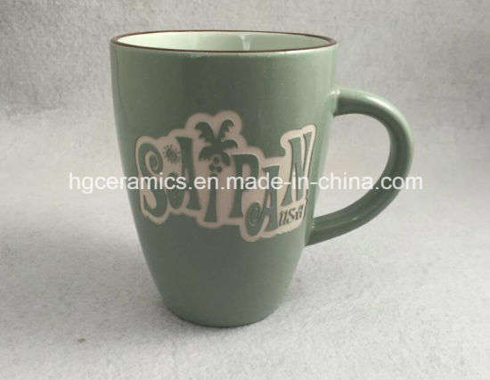 Sandblast Mug, Engraved Mug pictures & photos