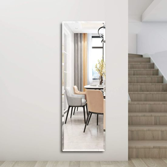 China Contemporary Beveled Full Length, Lightweight Bathroom Mirror