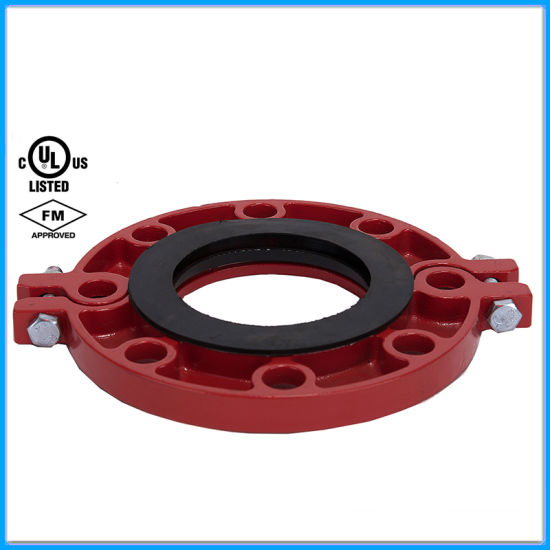 Ductile Iron Grooved Flange Coupling FM/UL/CE Approved pictures & photos