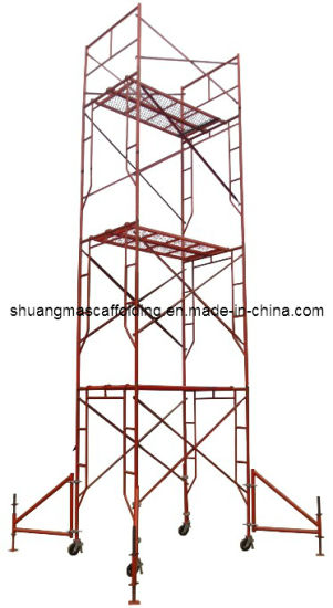 China Mobile Platform Portable Frame Scaffolding for Construction ...
