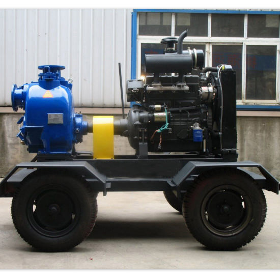 Diesel Engine Driven Self Priming Trash Pump (ZWDS) pictures & photos